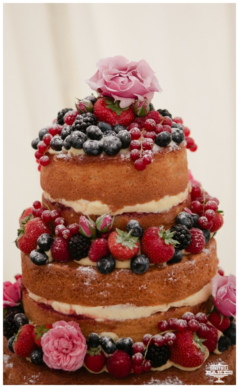 4 tier fruit wedding cake recipe a rustic wedding cake honeywell bakes iced biscuit gifts 10377