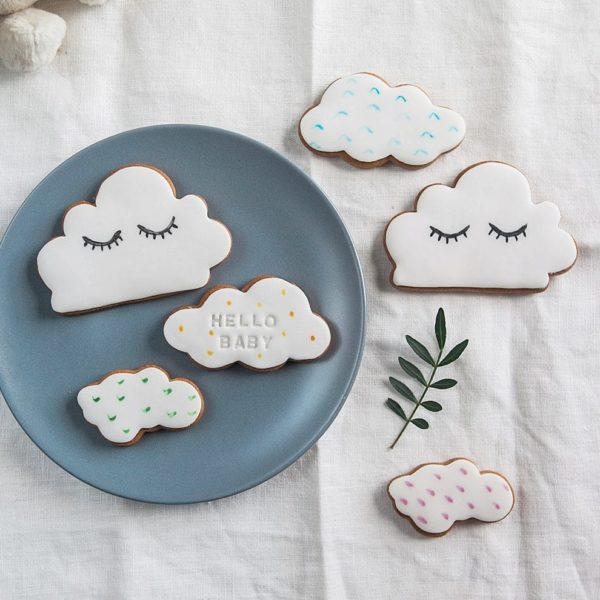 New baby biscuit gift set