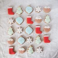 Advent Biscuit Gift Tin
