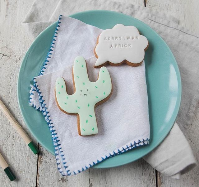 sorry gifts, biscuit gifts, funny gift ideas