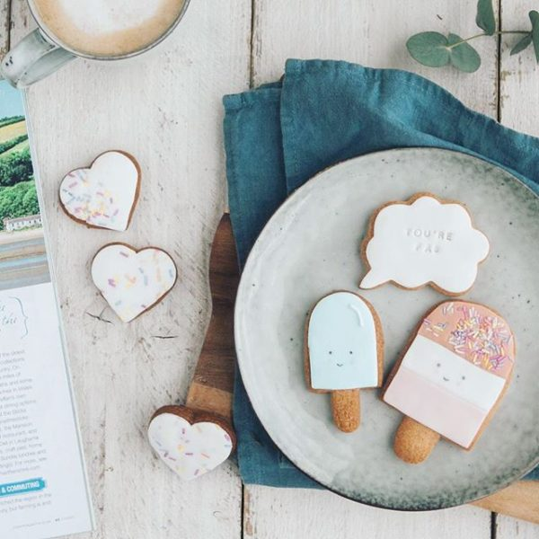 fab biscuits, hand iced, unique gift ideas, cute biscuits