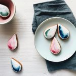 watercolour cookies, watercolour biscuits, tea and biscuit subscriptions