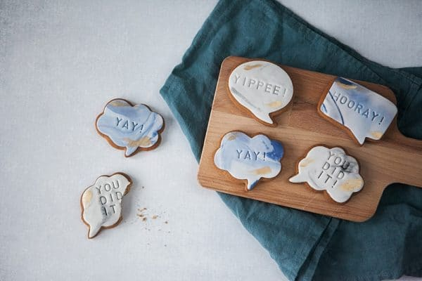 congratulations biscuit gifts by post