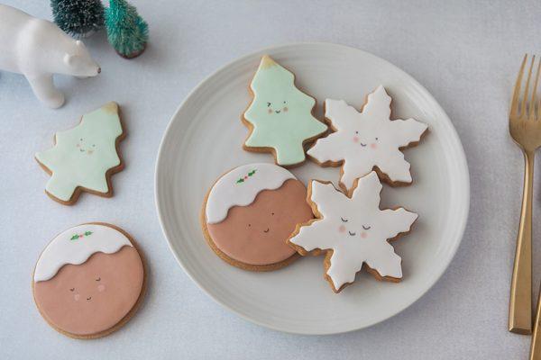 Cute Food Kawaii Christmas Biscuits