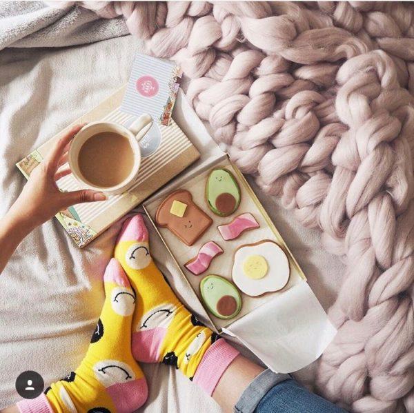 Cute breakfast using the Vickee Yo cookie cutters
