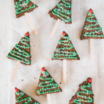 Christmas Tree Brownie Baking Kit