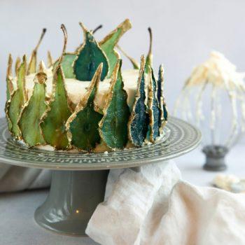 Gilded Pear Cake Baking Kit