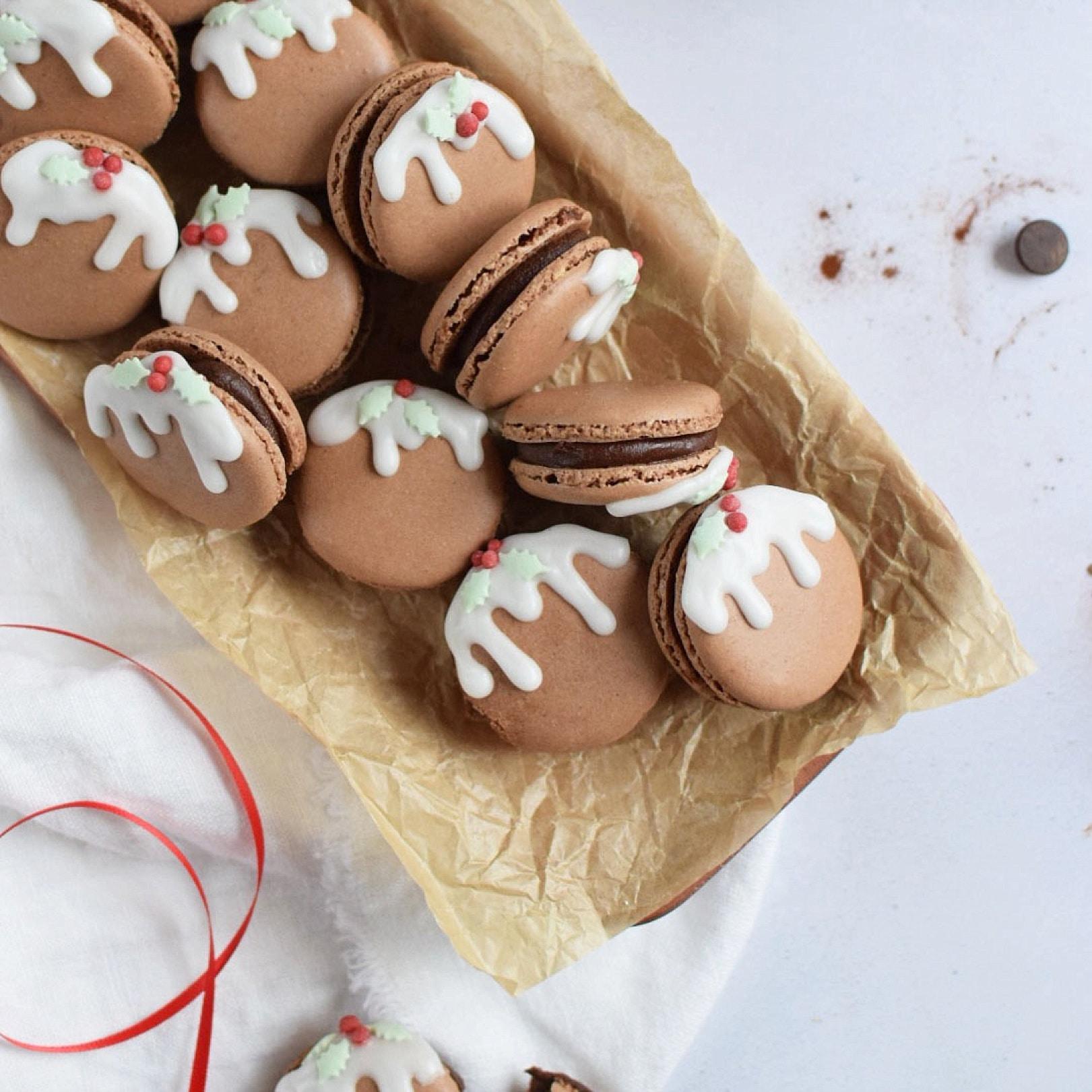 Christmas Macarons.Christmas Macaron Kit