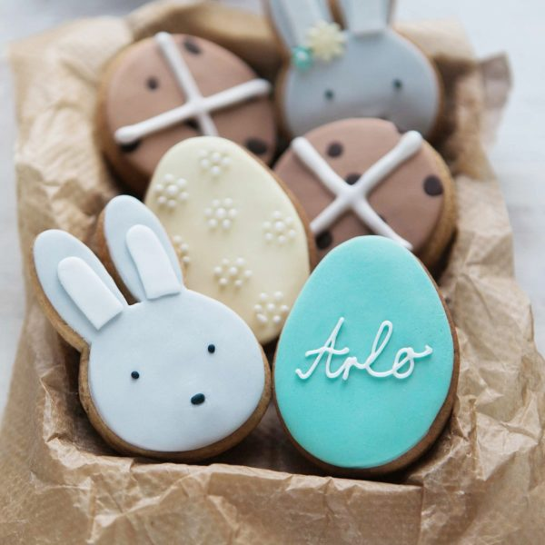 Personalised Spring Biscuit Gift