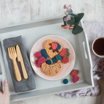 Biscuit Breakfast in Bed