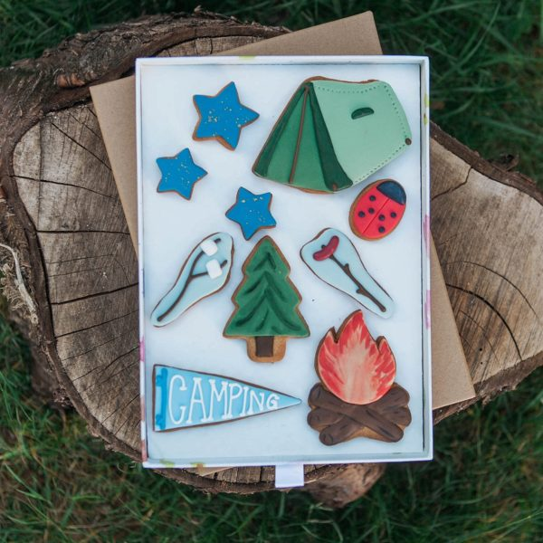 Camping Adventure Biscuit Gift Set