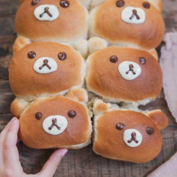 teddy bear bun baking kit