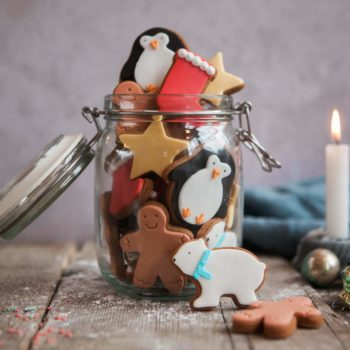 Jar of Christmas Cookies