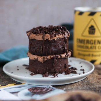 emergency chocolate cake kit