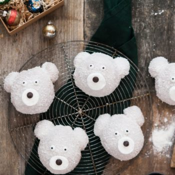 polar bear bun baking kit