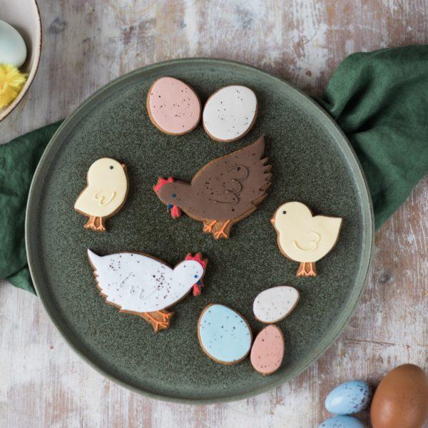 spring chicken biscuit gift set