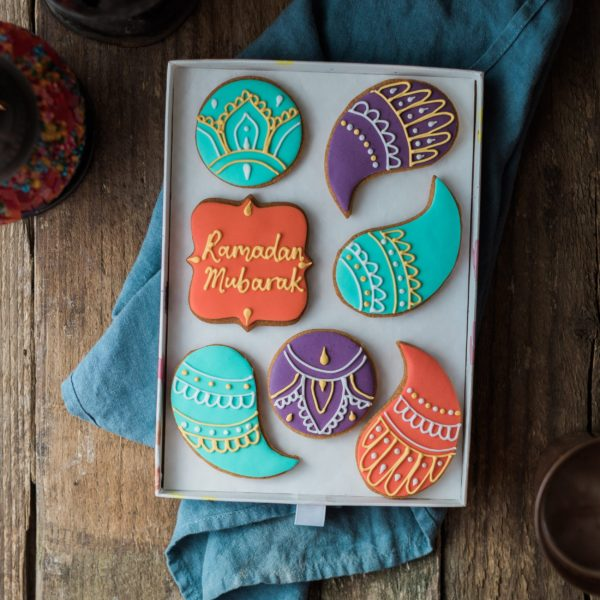 Henna Inspired Biscuit Gift