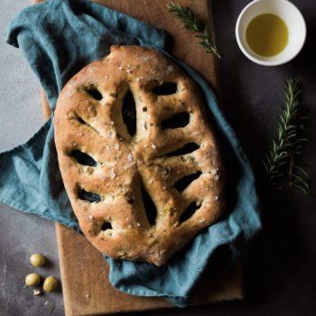 Olive and Rosemary Fougasse Baking Kit