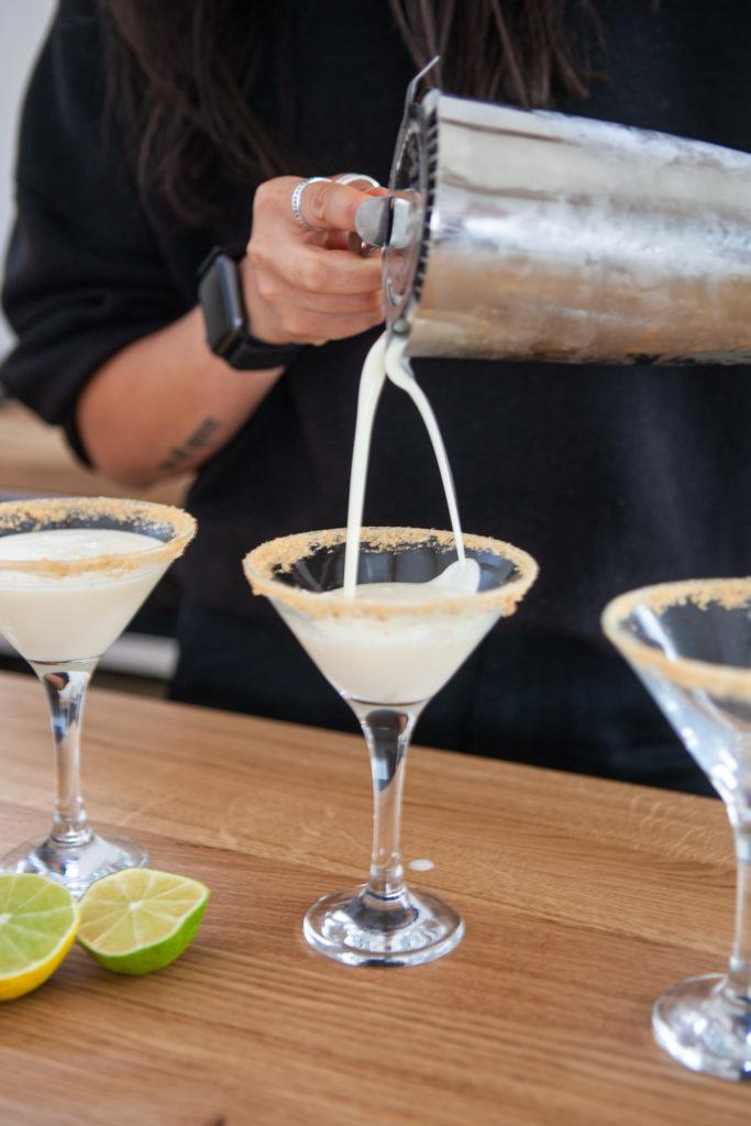 Key Lime Pie Martini Recipe